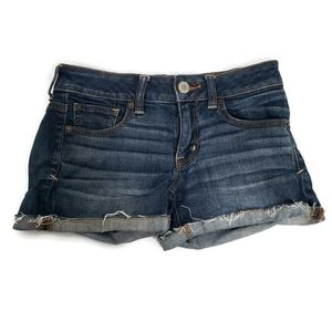 American Eagle Jean Shorts Super Stretch  Size 2